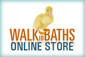 'For Easy Access Baths and Showers visit Walk in Baths