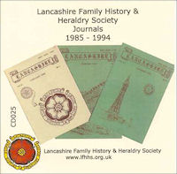 LFHH Society Journals 1985-1994 (CD025)