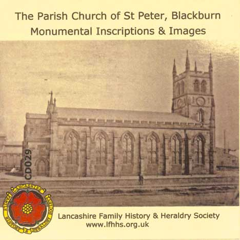 Blackburn, St Peter, MIs & Images (CD029)