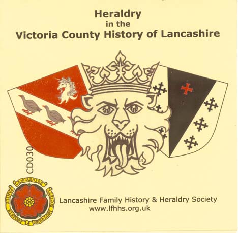 Heraldry in the Victoria County History of Lancashire (CD030)