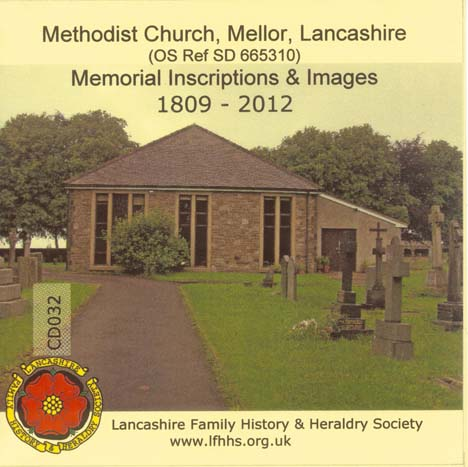 Mellor, MIs & Images Mellor Methodist Church (CD032)