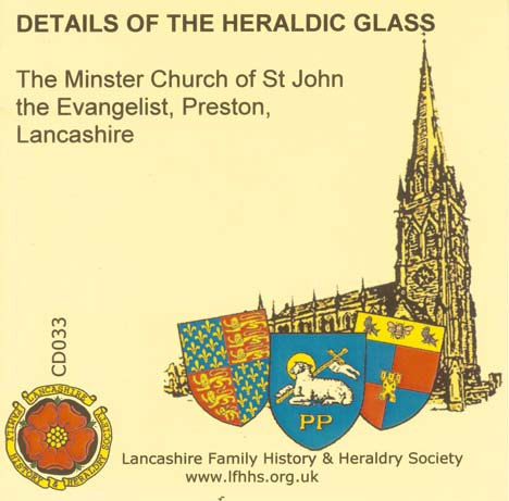 Preston, St John's Minster Church Heraldic Glass (CD033)