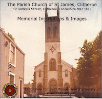 Clitheroe, St James - Memorial Inscriptions & Images (CD020)