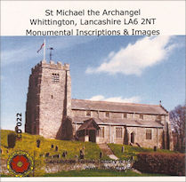Whittington, St Michael the Archangel - MIs (CD022)