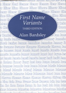 First Name Variants (3rd edition)