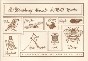A Secretary Hand ABC Book