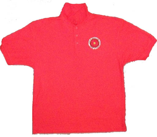 Red Polo Shirt Large