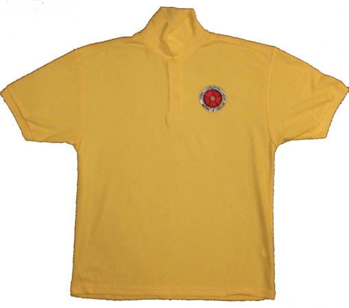 Yellow Polo Shirt Large