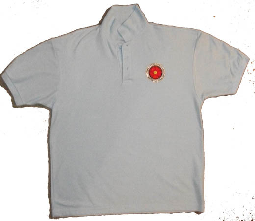 Light Blue Polo Shirt L