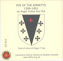 Pye of the Emmetts (CD012)
