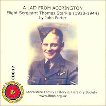 A Lad from Accrington - Flt Sgt Thomas Starkie 1918-1944 (CD017)