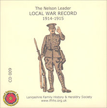 The Nelson Leader Local War Record 1914 - 1915 (CD009)