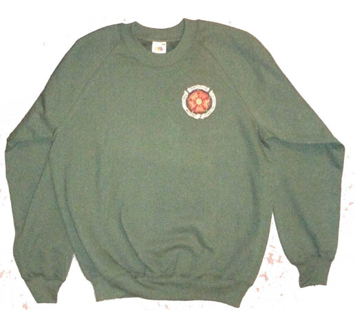 Dark Green Sweat Shirt Large